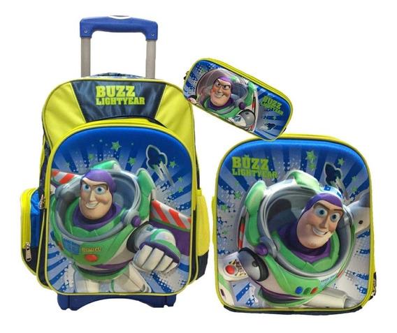 Kit Escolar Toy Story 4 Primaria. Mochila Lonchera Lapicera.