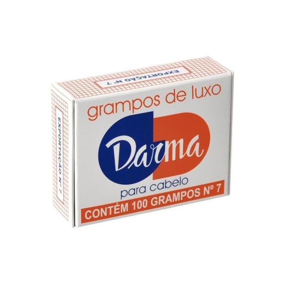 Darma Grampo P/ Cabelo Castanho G