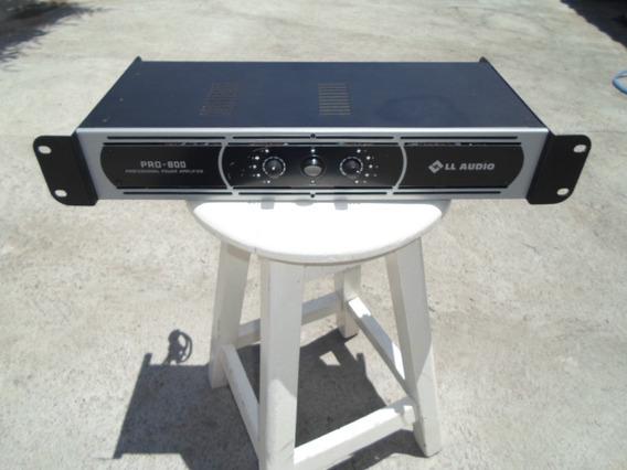 Amplificador, Ll Áudio. Modelo: Pro-800 (semi-novo)