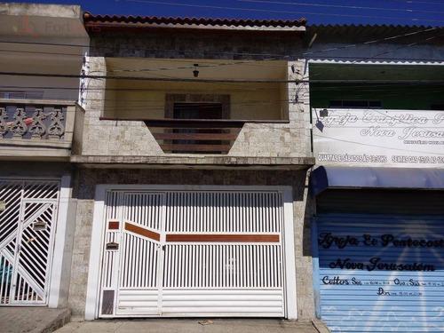 Sobrado Com 3 Dormitórios À Venda, 220 M² Por R$ 427.000,00 - Jardim Nova Belém - Francisco Morato/sp - So0255