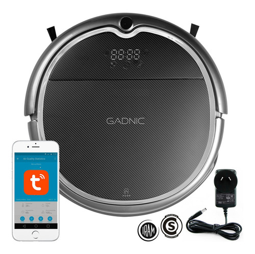 Aspiradora Robot Gadnic Clean Duo Trapeadora + Mopa App
