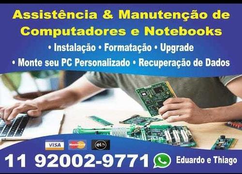 Manutenção De Notebooks E Pc's