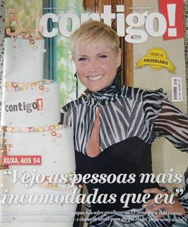 Revista Contigo Especial De Aniversário - Xuxa Aos 54
