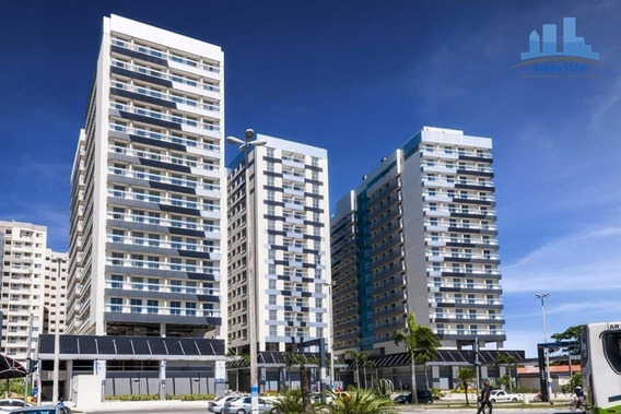 Apartamento De Um Quarto No Centro De Itaguaí/ Rj - 352 - 34954879