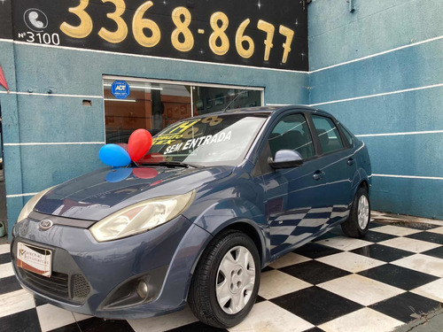 Imagem 1 de 9 de Ford Fiesta Sedan 1.6 Rocam Se Plus Flex 4p 2014
