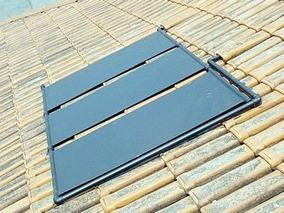 3 Placas Coletor Aquecedor Solar + C/ Manual / Menor Frete