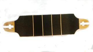 Shape Longboard Rebaixado Com Drop Through Vazado + Lixa