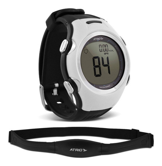 Relogio Smart Run Atrio Altius Monitor Cardíaco Branco Es090