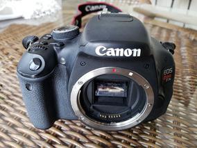 Camera Fotografica Canon T3i Rebel Com 01 Lente 18x55mm