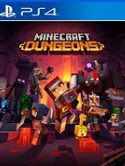 Minecraft Dungeons Ps4 1 Português Legendado Dg