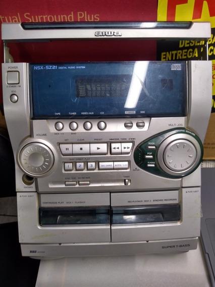 Frontal Mini System Aiwa Modelo Cx-nsz21lh