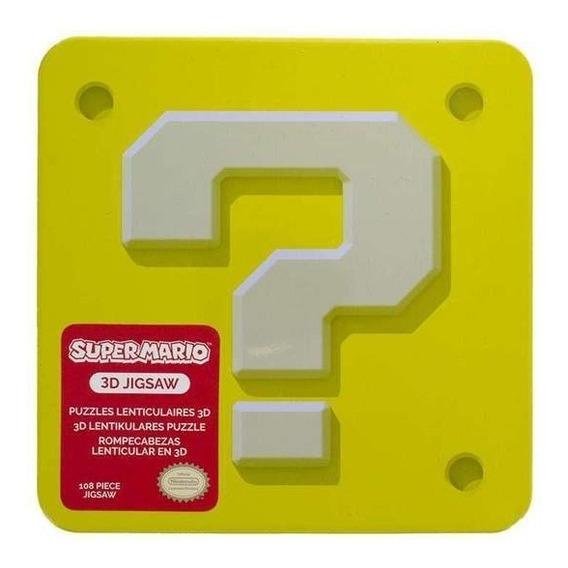 Rompecabezas 3d Super Mario