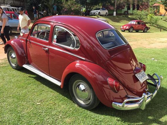 Volkswagen Fusca 1200 Vermelho Granada