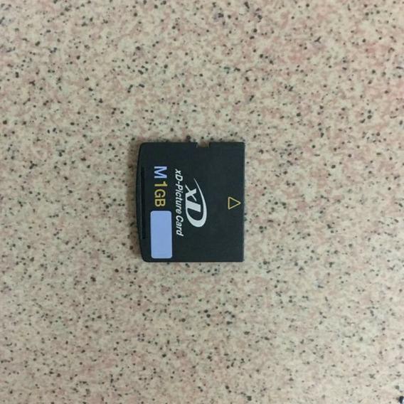 Cartão De Memória Xd-picture M+ M H 1 Gb Para Câmera Olympus