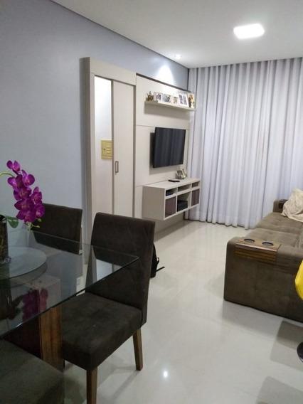 Apartamento 2 Qts No Bairro Nações Unidas - 1654