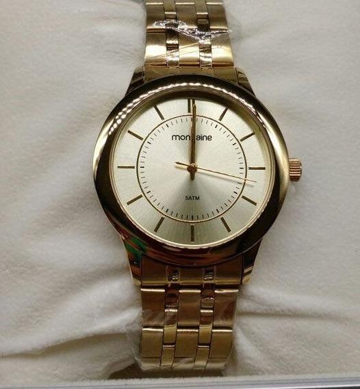 Relógio Mondaine Feminino Dourado 83338 Lpmvde1