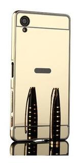 Marco Metalico Aluminio Espejado Sony Xperia Xa Ultra Unica