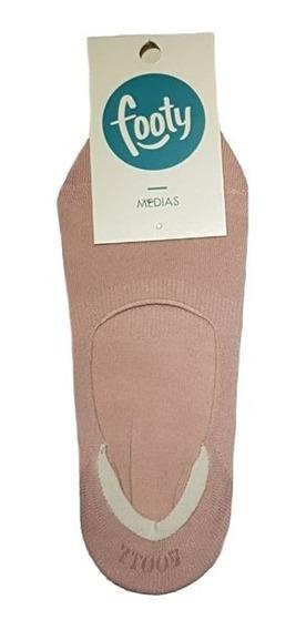 Media Mujer Corta Invisible Zapato Zapatilla Footy Verano
