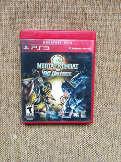 Mortal Kombat Vs Dc Universe Ps3. Envios Todo Chile