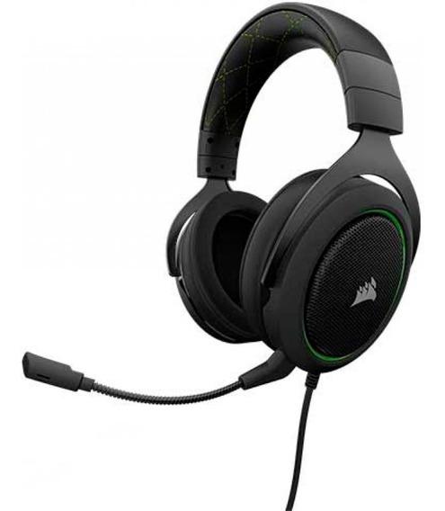 Headset Gamer Hs50 Stereo Green - Openbox