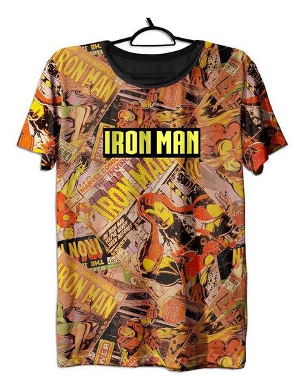 Camiseta, Homem Aranha, Ironman, Marvel, Vingadores, Nerd