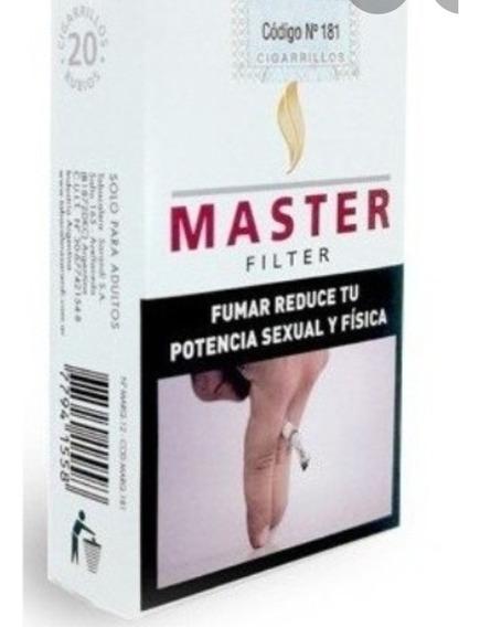 Cigarrillos Master X Cartón (10 Atados De 20) Envíos