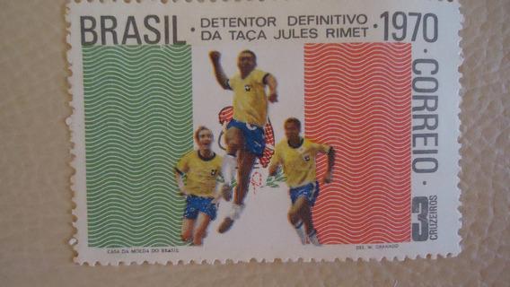 Brasil Campeão Copa De 58, 62 E 70 Raro