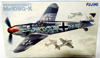 Messerschmitt Me109g-k - Escala 1/72 Fujimi