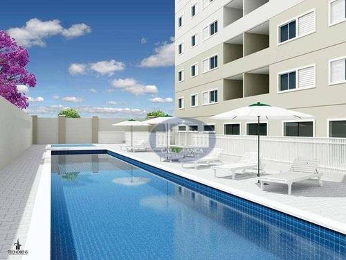 Apartamento Residencial À Venda, Concórdia Ii, Araçatuba. - Ap0442