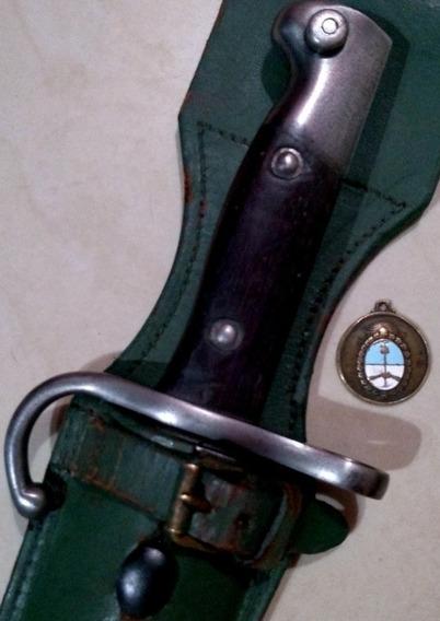 Antiguo Sable Bayoneta Mauser Mod 1909 F M. Con Tahali. Daga