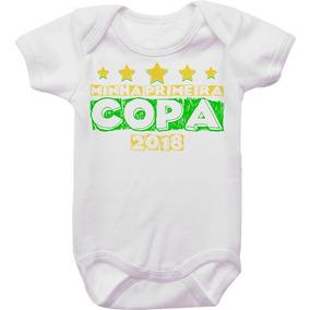 Body De Bebê Minha Primeira Copa 2018