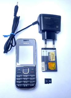 Celular Nokia C2 C2-01 3g Original Anatel Pega Na Roça Novo