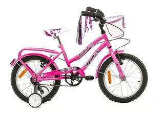 Bicicleta Rodado 16 Canasto Halley Y Otros - Luico
