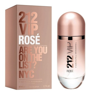 212 Vip Rose De Carolina Herrera Eau De Parfum 80 Ml