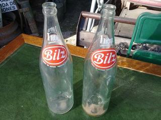 Antigua Botella Gaseosa Bilz 1 Litro