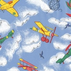 Papel Adesivo Contact - Plastico Adesivo 15mts- Aviões