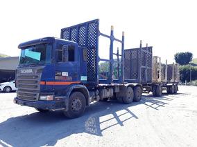 Romeu Scania G 420 Madeira Florestal Plataforma Sem Julieta