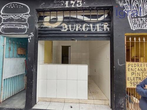 Imagem 1 de 4 de Salão Para Alugar, 15 M² Por R$ 700,00/mês - Vila Guarani (zona Sul) - São Paulo/sp - Sl0021