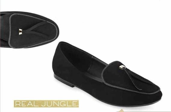 Zapatos Cerrados De Piso Modelo Real Jungle 5502