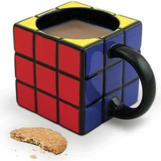 2 Taza Cubo Rubik