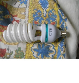 Kit Lâmpada 30w (110v) +150w (220v) + Luminária 110v