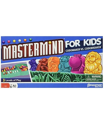 Mastermind For Kids - El Juego Codebreaking Juega En Tres