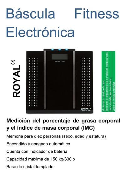 Báscula Fitness Electrónica