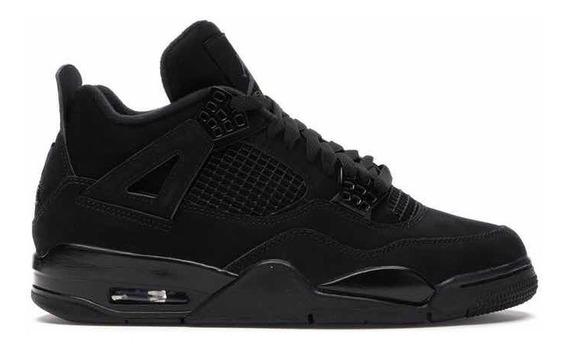 Pedido Jordan 4 Black Cat Negros Originales 6mx