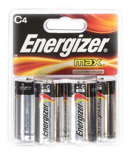 Pila Alcalina C De Energizer Max, Paquetes De 16 Baterías