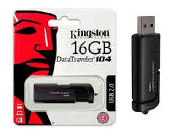 Pendrive Kingston De 16 Gb Datatraveler 104 *nuevos***