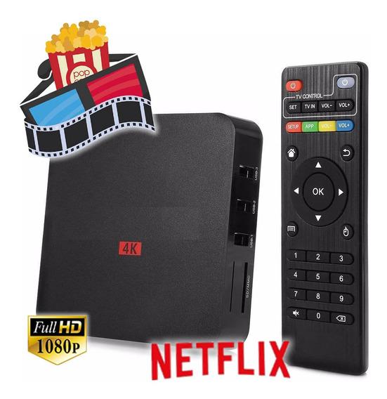 Convertidor Smart Tv 4k Pro - Box Tv Android 7 Converti En Smart Tu Tv + Netflix + Apps + Envios =) / Pagamasbarato =)