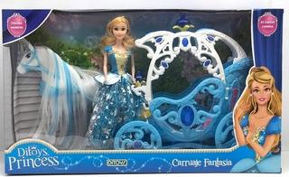 Carruaje Fantasia Princesa Sonidos Y Movimientos Ditoys Prom