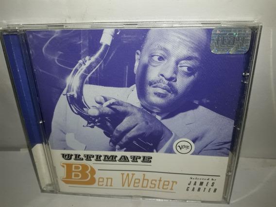 Cd Ben Webster Ultimate 1998 Semi Novo