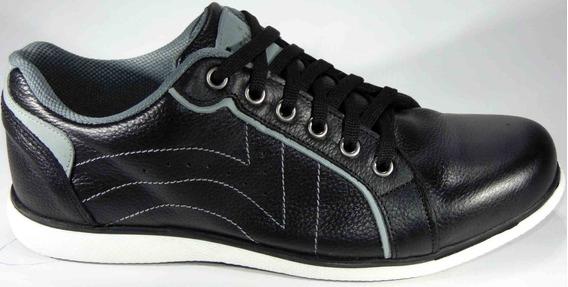 Zapatillas Zapatos Urbanos 39/45 Cuero Art 4510